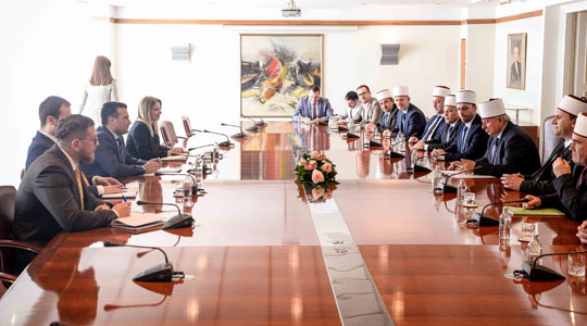 Премиерот Заев се сретна со раководството на ИВЗ