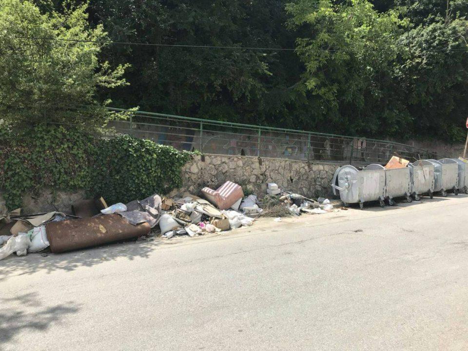 Дива депонија никна покрај центарот за деца со церебрална парализа во Центар, Богдановиќ со месеци не го чисти ѓубрето (ФОТО)