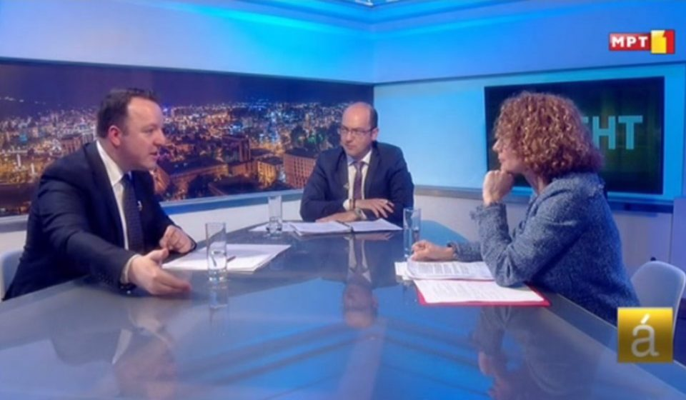 Николоски: Грција сака да ја види Шекеринска како преговарач затоа што е пофлексибилна за името