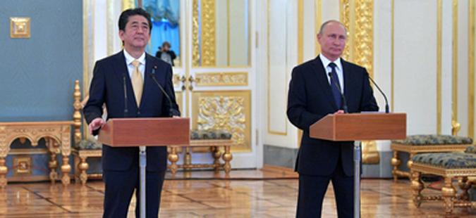 Абе: Јапонија ќе соработува со Русија за денуклеаризација на Корејскиот Полуостров