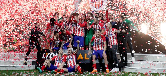 Атлетико триумфираше во Лига Европа