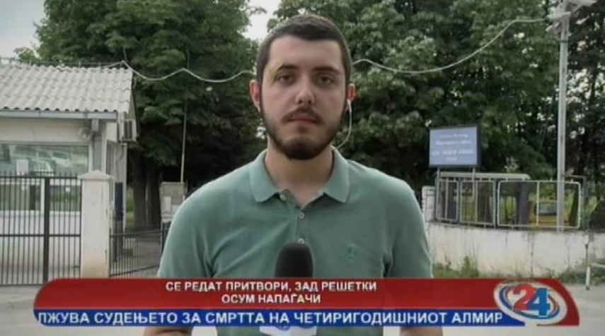Новинар од 1 ТВ со обвинувања до Телевизија 24 дека му вршеле тортура