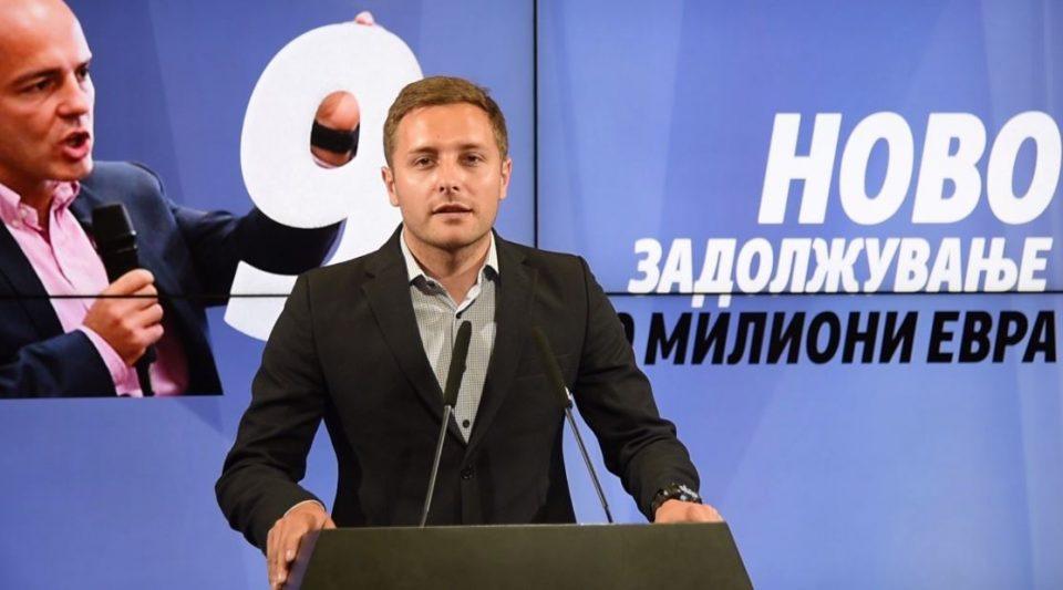 Арсовски: Граѓаните живеат во страв и грч за својата иднина, секое семејство е задолжено за нови 600 евра во 2018 година