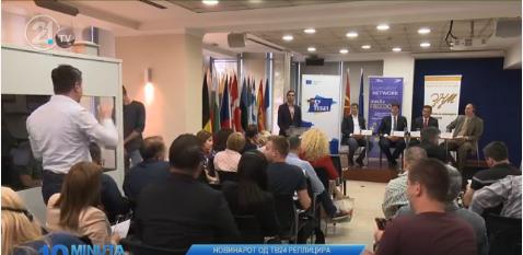Новинарот Хајдарпашиќ до министерот Поповски: За каква слобода на медиуми зборувате, колеги се исплашени и застрашени, не примаат плата