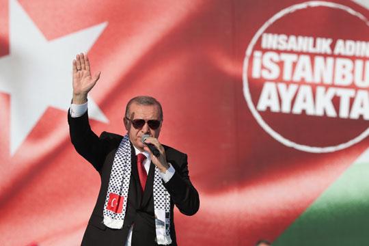Ердоган: Светот падна на испитот за Ерусалим