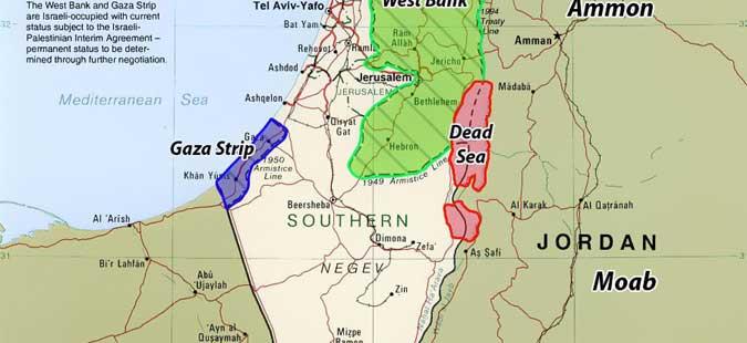 Израелскиот ракетен одбранбен систем собори проектили истрелани од Газа
