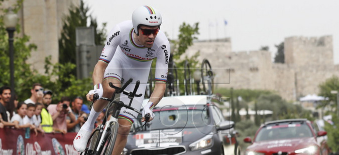 Џирото стартуваше од Ерусалим, Димулан победи на првата етапа