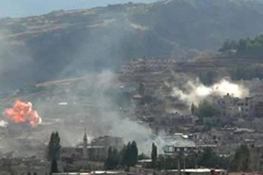 Експлозија на воениот аеродром во сирискиот град Хама