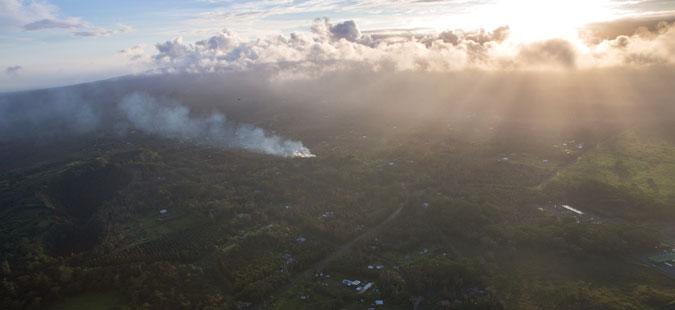 По ерупцијата на вулканот Килауеа, серија силни потреси на Хаваи