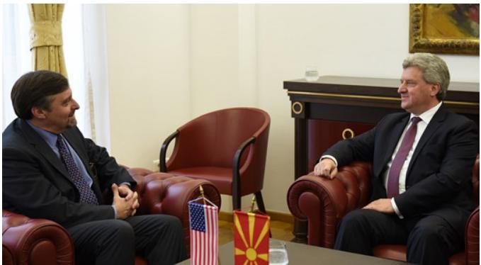 Иванов се сретна со заменик-помошник секретарот во Стејт Департментот на САД