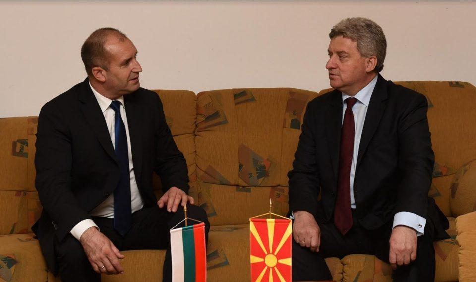 Претседателот Иванов оствари со претседателот на Бугарија Радев