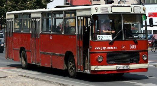 Старите дотраeни автобуси се вратија на скопските булевари