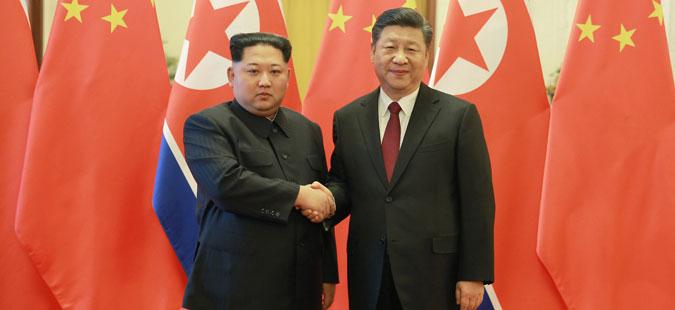 Втора посета на Ким Џонг-ун на Кина