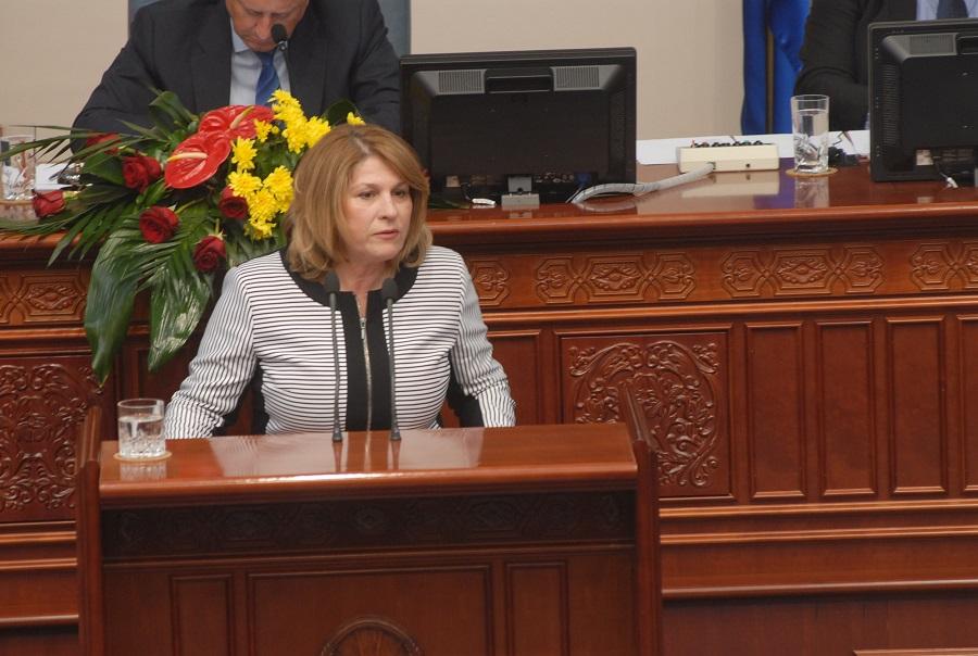 Кузмановска: Пренамената на пари за општините не е затоа што Владата се грижи за нив, туку затоа што не беа способни да ги реализираат капиталните инвестиции