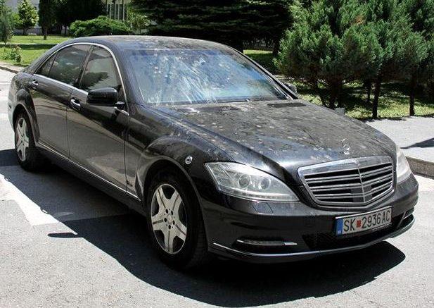 Груевски: Дали ако наместо Мерцедес Ц600 Гард се набавело некое друго блиндирано возило за претседатели и ВИП политички личности, тогаш немало да имам корист