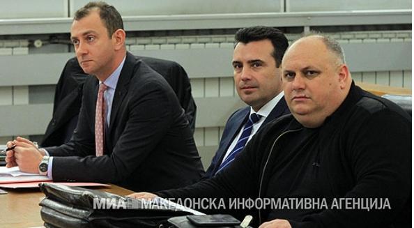 """Заев дава исказ за """"Поткуп"""""""