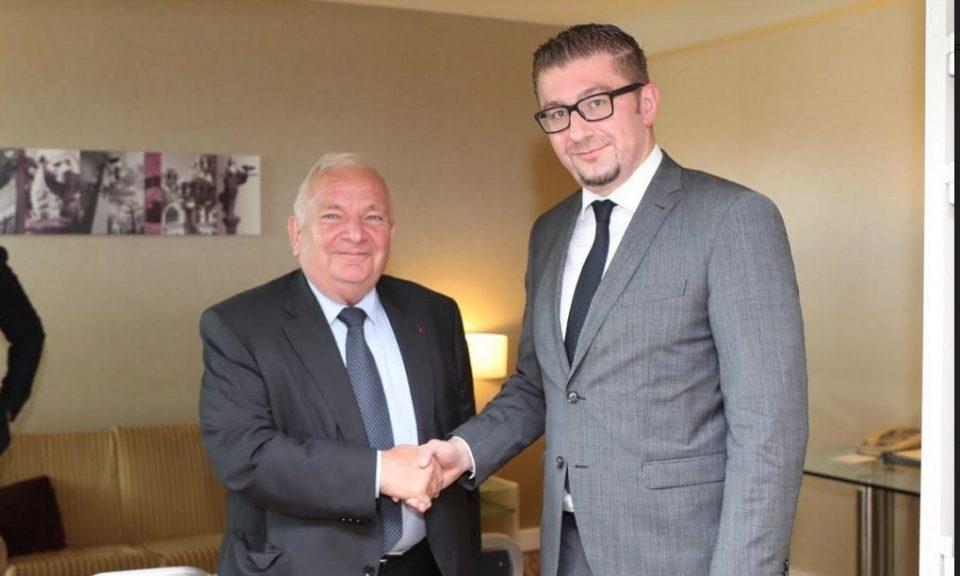 Мицкоски оствари средба со претседателот на ЕПП, Џозеф Дол