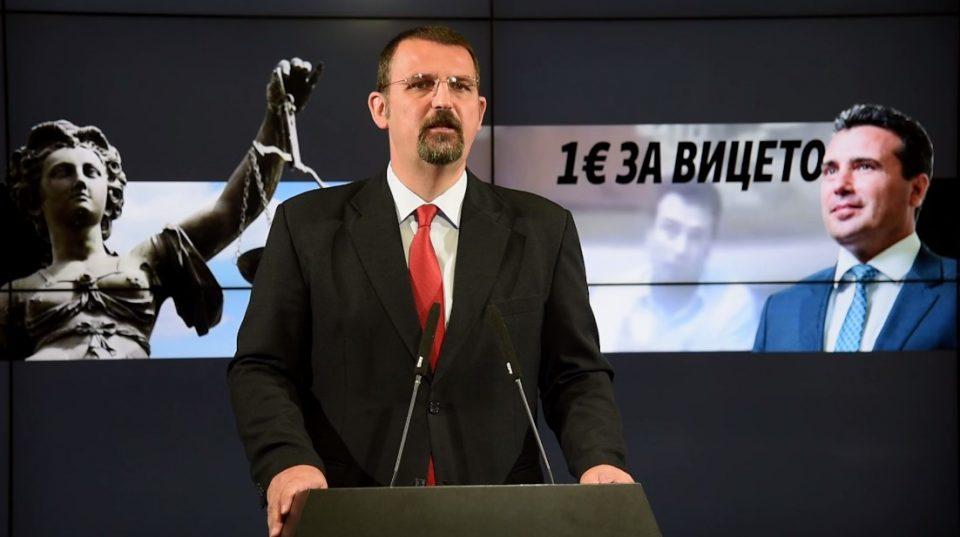 """Стоилковски: Заев е по втор пат амнестиран политичар за очигледен криминал, ослободителната судска пресуда за """"Поткуп"""" не изненади никого"""