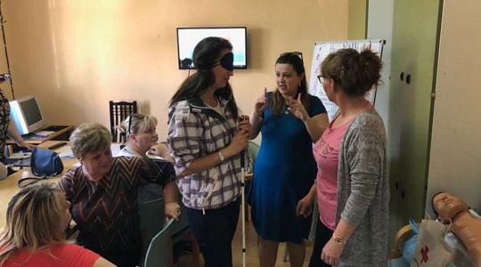 Во Неготино почна програма за персонална асистенција на лица со попреченост