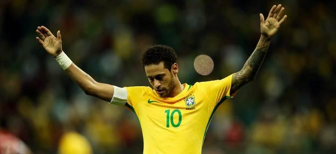 Нејмар го спаси Бразил од пораз