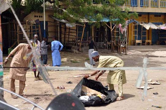 Најмалку 20 луѓе загинаа при експлозија во џамија во Нигерија