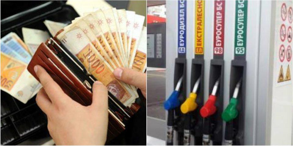 Граѓаните осиромашуваат: Со една просечна плата денес се купуваат 123 литри дизел помалку од лани