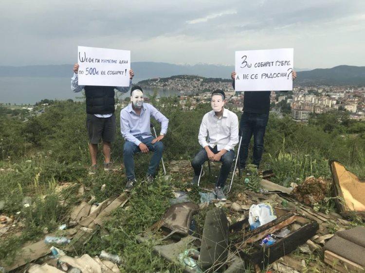 Пародија на УМС: Ненавременото и неажурно функционирање на јавните претпријатија доведе до еколошка катастрофа во Охрид