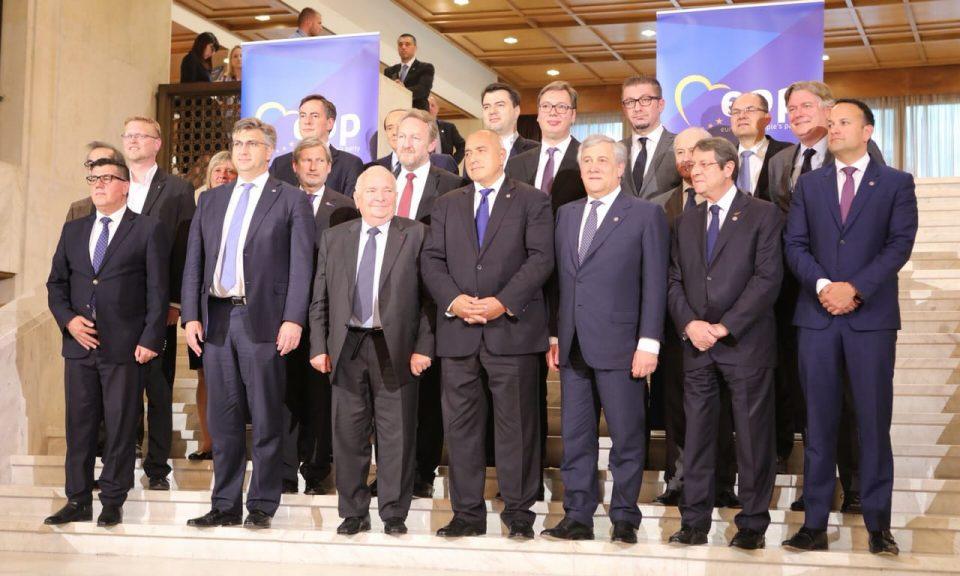 Денеска во Софија се одржа самитот на Европската народна партија, Мицкоски одржа неколку билатерални средби