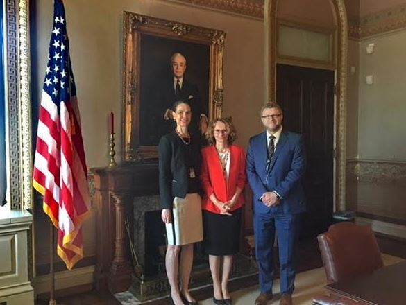 Шекеринска во САД на средби со високи претставници од Белата куќа и Стејт Департментот