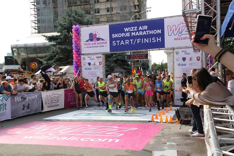 Побрзајте: Пријавувањето за учество на Виз ер Скопски маратон завршува на 22 април