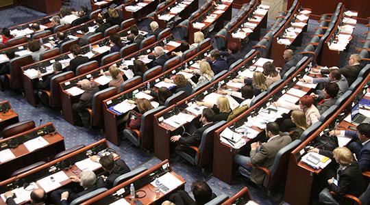 Собранието повторно ќе гласа за Законот за ратификација на Договорот за името