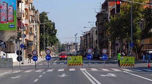 Посебен режим на сообраќај во Скопје поради протест