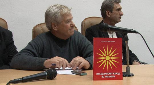 Почина големиот македонски патриот Спасе Мазенковски