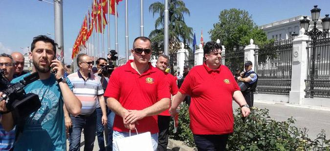 Синдикалците ги доставија барањата до Владата