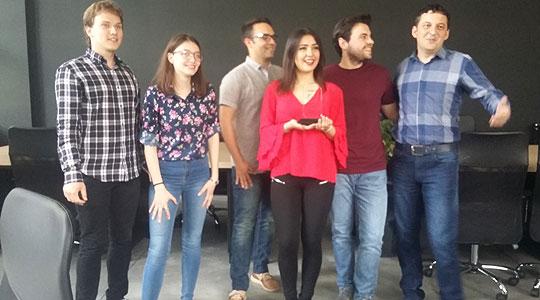 Прва награда за студенти на ФЕИТ на натпреварот ICAMES во Истанбул