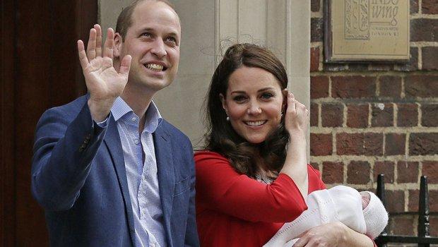 Документот со податоците за новородениот принц Луис откри што се по професија неговите родители (ФОТО)