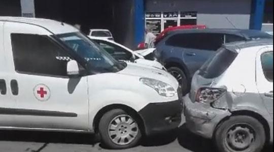 Верижен судир без повредени во Тетово