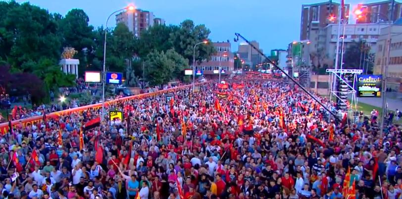 ВМРО-ДПМНЕ најави голем антивладен протест на 2. јуни (ВИДЕО)