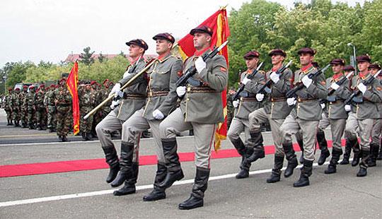 Примопредавање на должноста командант на полкот за Специјални операции при АРМ