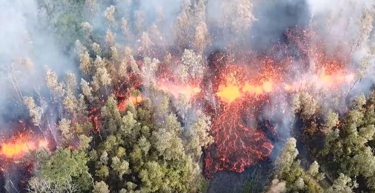 ВИДЕО: Тревога на Хаваи, еруптираше вулкан – населението итно се евакуира