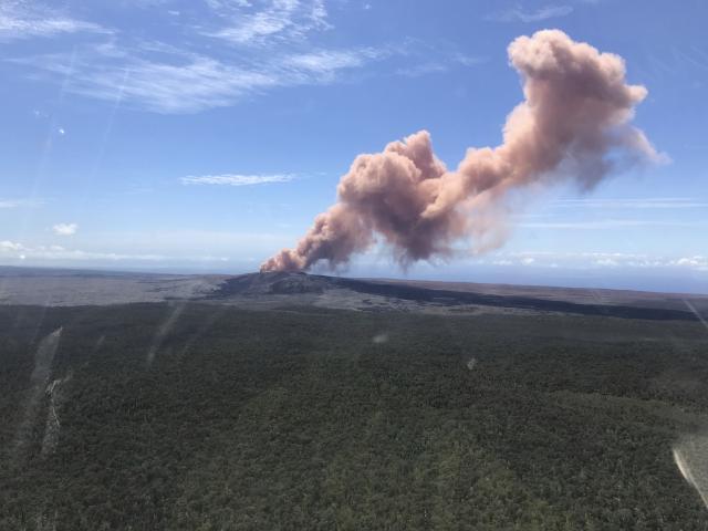 Опасност од вулканска ерупција на Хаваите