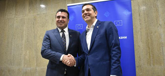 """""""Та Неа"""": Успешен разговор Ципрас-Заев води кон средба во Преспа на 9. јуни, каде ќе се потпише договорот"""