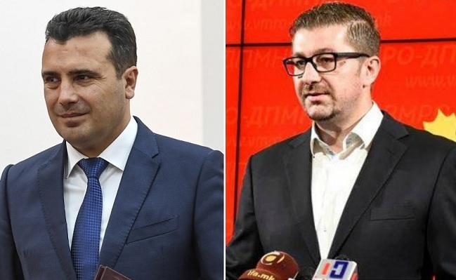 Мицкоски до Заев: Наместо да се криеш, ајде да излеземе на ТВ дуел да збориме за договорот и за криминалните афери кои се случуваат секој ден