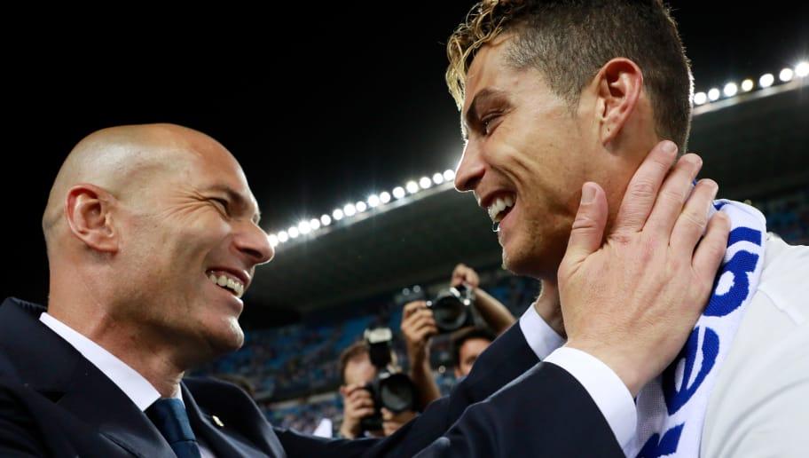 Роналдо со трогателна порака се збогуваше од Зидан