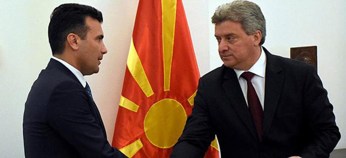 Утре средба меѓу Иванов и Заев околу преговорите за името на Македонија