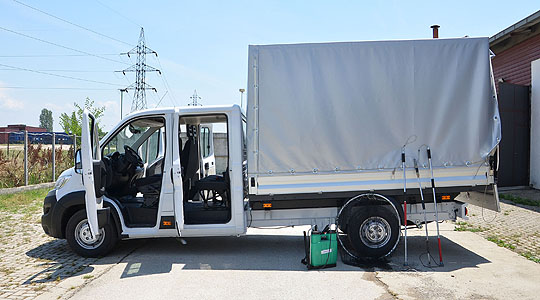 Ново возило за заловување и транспорт на бездомните кучиња во Скопје