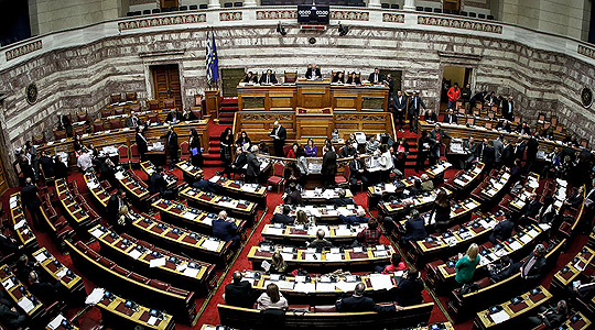 Започна гласањето за недоверба на грчката влада