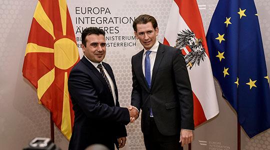 Премиерот Заев денеска во Австрија, утре во Полска