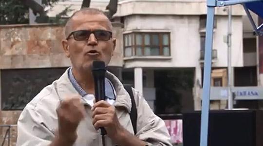 Мирен протест против Договорот за името пред Собранието
