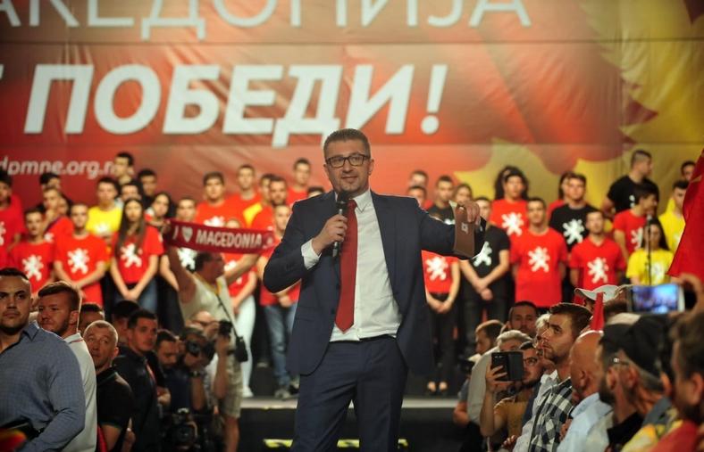 """""""Ниту Мицкоски, ниту ВМРО-ДПМНЕ е во некакви разговори со Заев за министерски места- нема компромис со нашите ставови за неподдржување на капитулантскиот договор"""""""